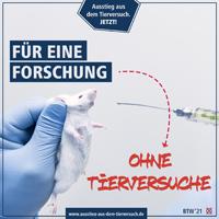 Für eine Forschung ohne Tierversuche